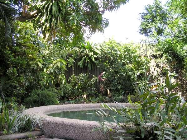 Nq splash pool gardens for Garden pool maintenance